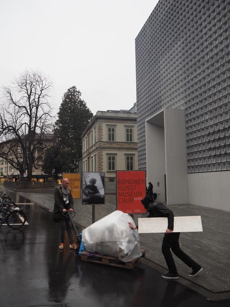 """""""Züglete"""" vom Kunstmuseum an den Postplatz"""